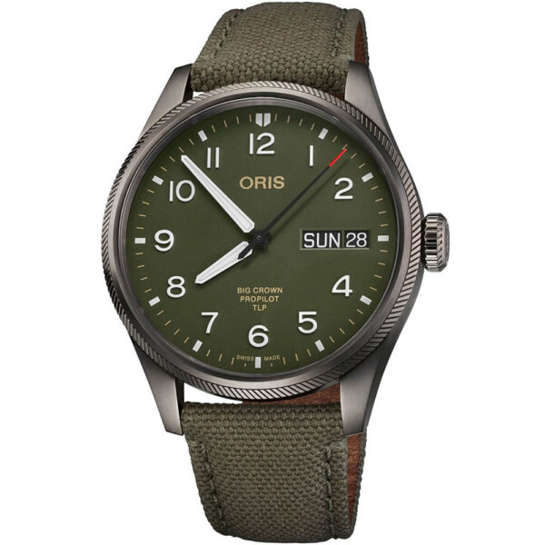 Мужские наручные часы ORIS BIG CROWN TLP LIMITED EDITION 01 752 7760 4287-Set - Фото № 7