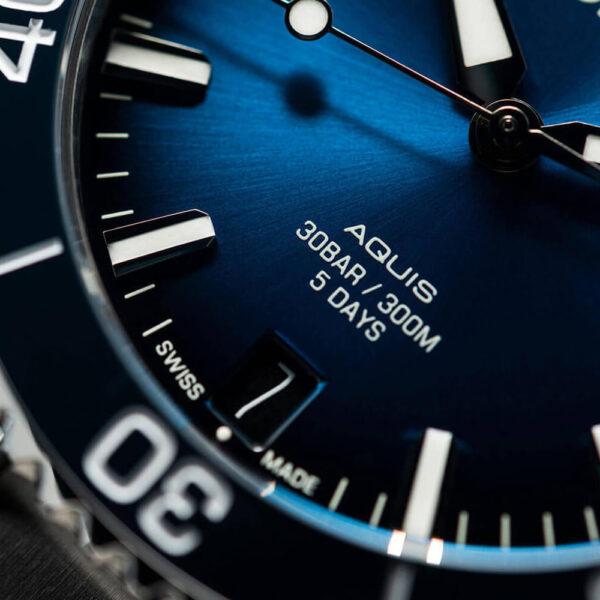 Мужские наручные часы ORIS AQUIS CALIBRE 400 01 400 7769 4135-07 8 22 09PEB - Фото № 10