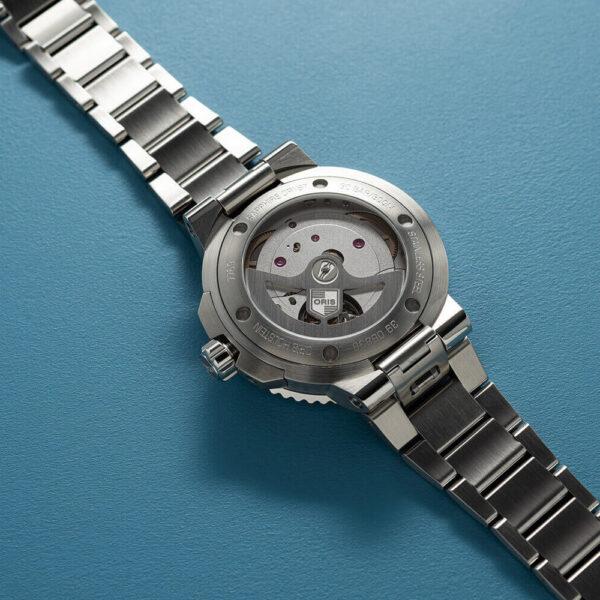 Мужские наручные часы ORIS AQUIS CALIBRE 400 01 400 7769 4135-07 8 22 09PEB - Фото № 11