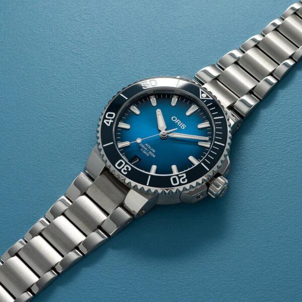 Мужские наручные часы ORIS AQUIS CALIBRE 400 01 400 7769 4135-07 8 22 09PEB - Фото № 8