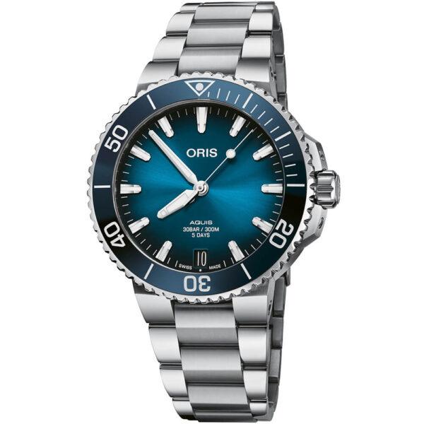 Мужские наручные часы ORIS AQUIS CALIBRE 400 01 400 7769 4135-07 8 22 09PEB - Фото № 6