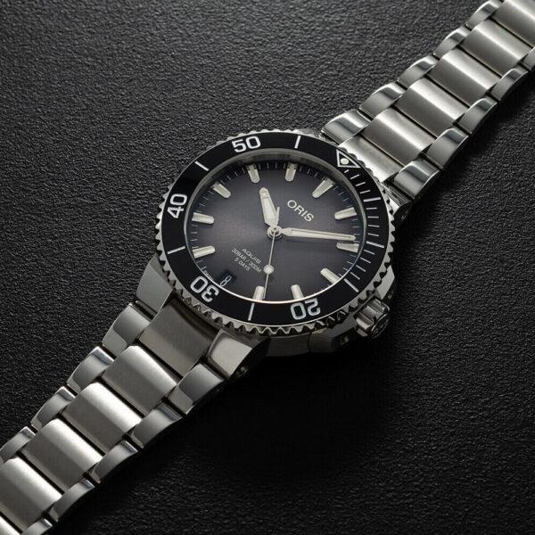 Мужские наручные часы ORIS AQUIS 01 400 7769 4154-07 8 22 09PEB - Фото № 8