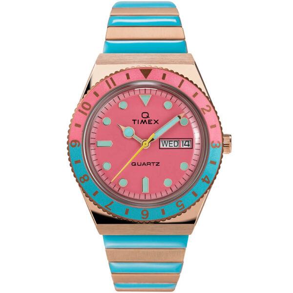 Женские наручные часы Timex Q Malibu Tx2u81500