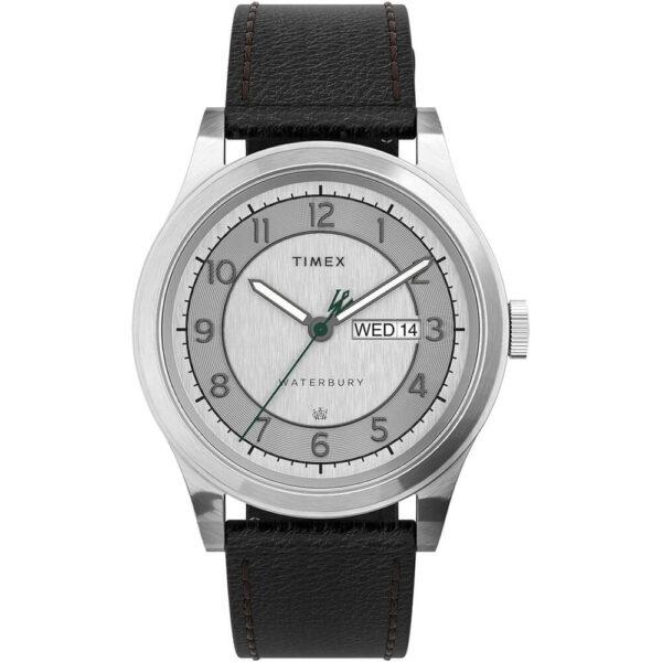 Мужские наручные часы Timex WATERBURY Traditional Day-Date Tx2u90200