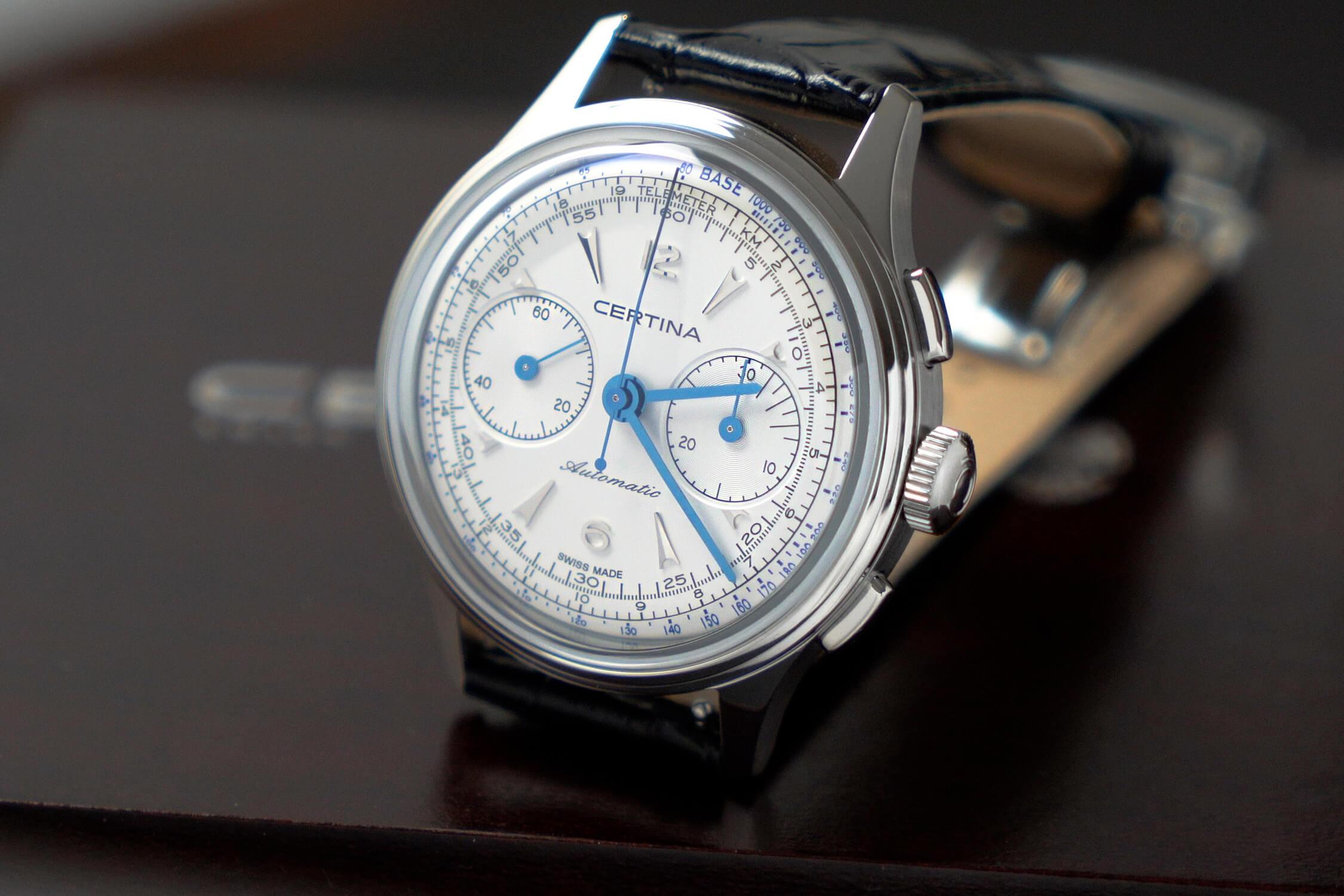 certina heritage ds chronograph-automatic C038.462.16.037.00