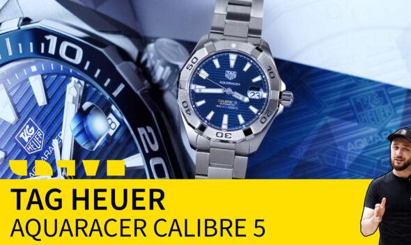 tag heuer aquaracer calibre 5 WBD2112.BA0928