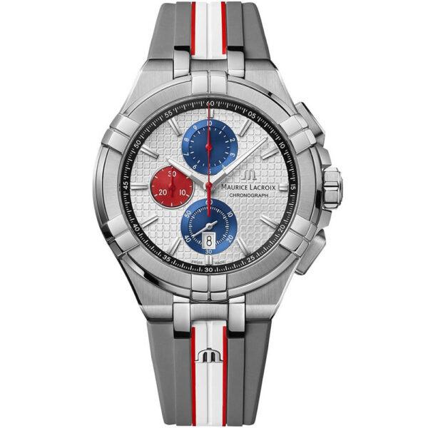 Мужские наручные часы MAURICE LACROIX Aikon Chronograph Mahindra Racing Special Edition AI1018-TT031-130-2