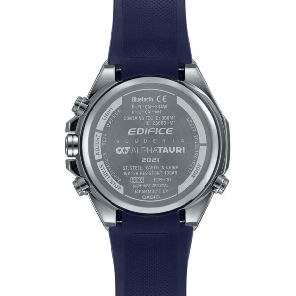 Мужские наручные часы CASIO Edifice ECB-10AT-1AER - Фото № 9