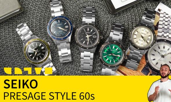 seiko presage style 60s