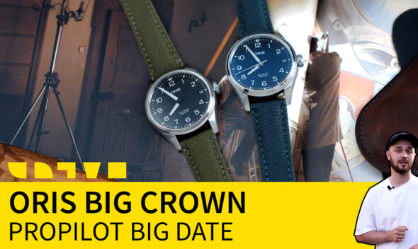 oris big crown propilot big date