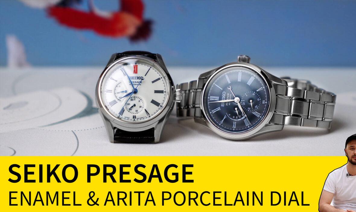 seiko presage enamel arita porcelain dial