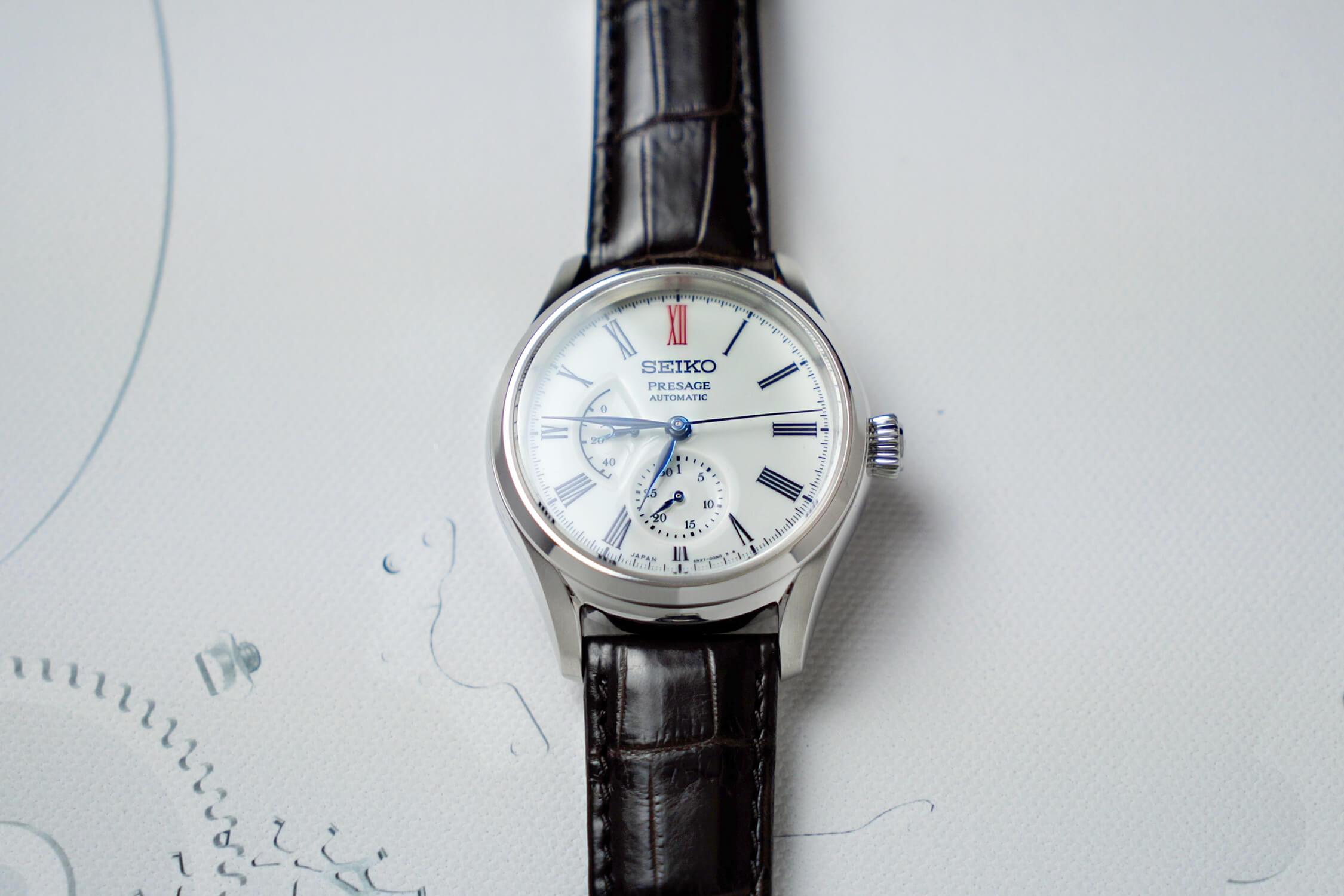 seiko presage arita porcelain dial SPB093J1