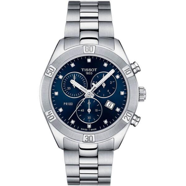 Женские наручные часы TISSOT PR 100 Sport Chic Chronograph T101.917.11.046.00