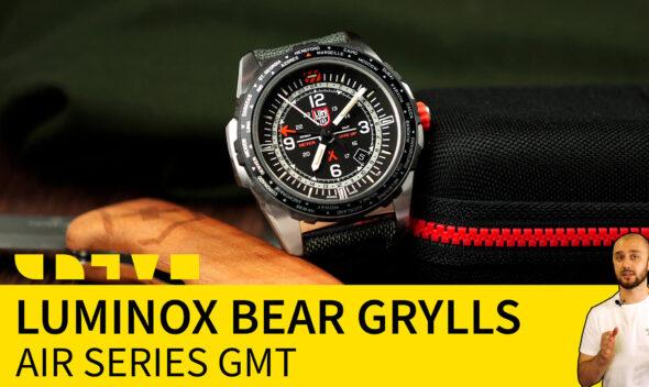 luminox bear grylls air series GMT survival XB.3761