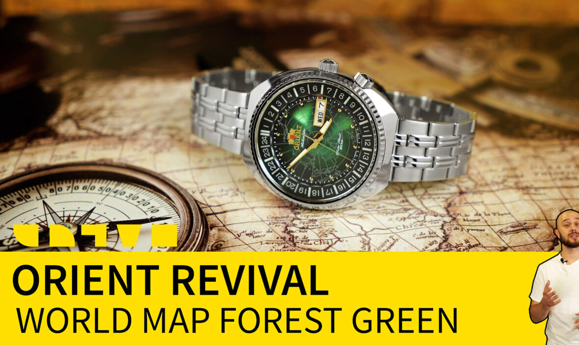 orient revival world map forest green RA-AA0E02E19B