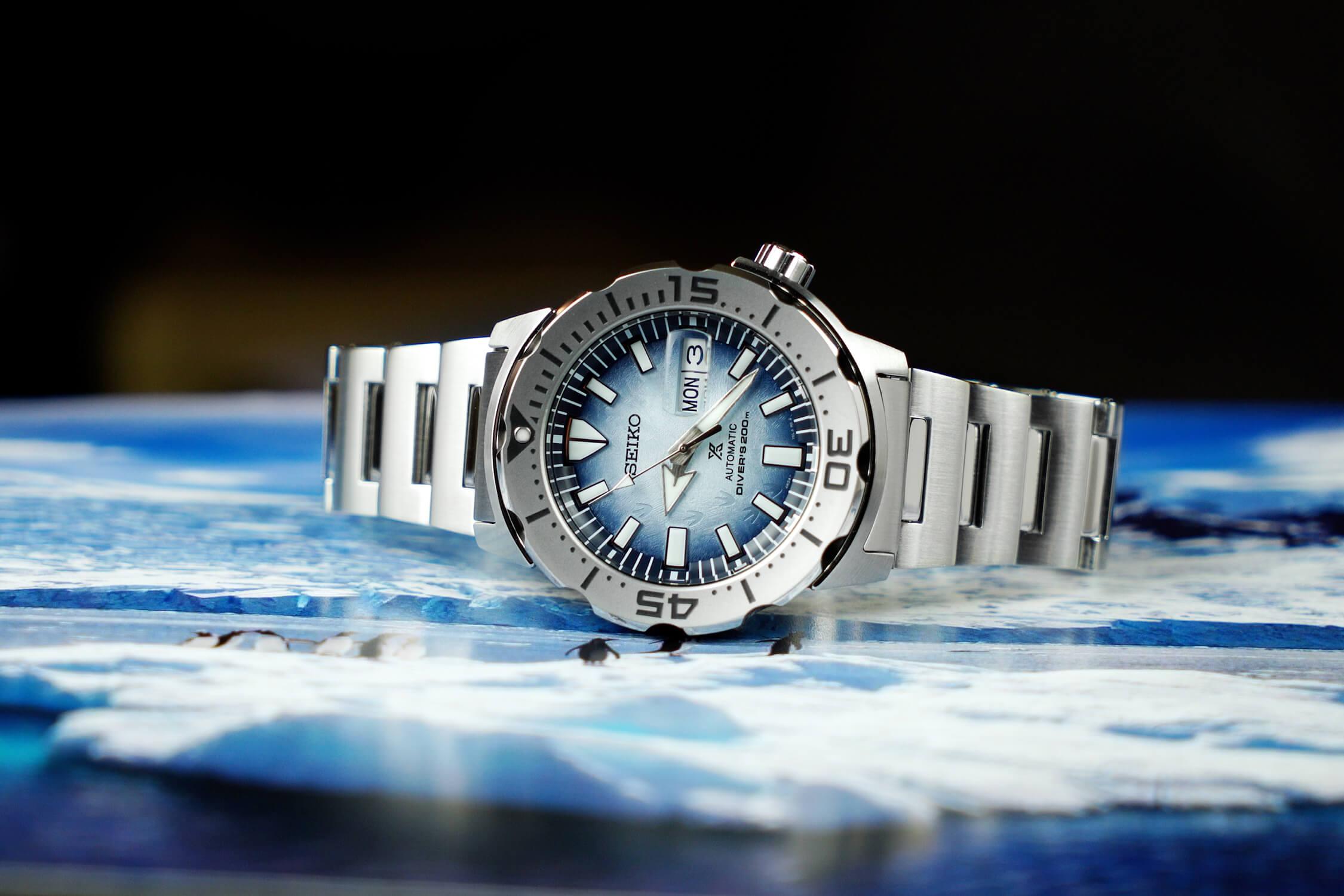 seiko prospex save the ocean_antarctica SRPG57K1
